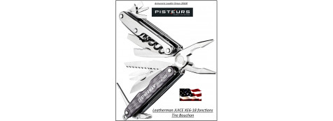 Couteau-LEATHERMAN-JUICE-XE6-gris-18-outils -Ref 24900