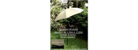 Parapluie de poste-Fuzion-chasse Ref 24910