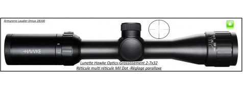 Lunette -Hawke Optics- Vantage-2-7x32-AO-Réticule-Mil Dot-Promotion-Ref 27767