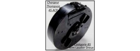 Chargeur-Thomson-Carabine-1928-A1-d'époque-Semi-automatique USA-Calibre 45 ACP-Chargeur-30 coups-Catégorie B5-Ref 29423