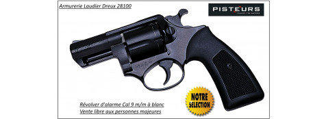 Révolver-Kimar-Power-Compétitive-Bronzé-défense-alarme-Calibre-9m/m-blanc-gaz-Canon-2-pouces-Promotion-Ref 4367
