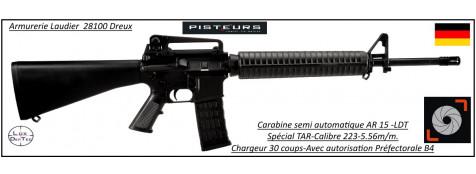 Carabine-AR-15-M4-spécial TAR-LTD-Semi-automatique-Calibre 5.56 -223 Rem-Catégorie B4-Ref 30308
