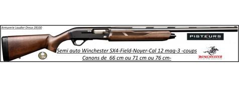 Fusil -chasse -Semi automatique -Winchester-SX4-Field-Calibre 12 magnum-Crosse noyer-Canons de 71 ou 76 cm-Chokes inter-Billes acier-Promotion