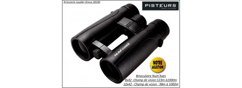 Jumelles-binoculaires-Num'Axes-grossissement 8x42 ou 10x42-Promotion