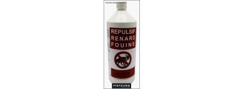 Répulsif-Renard-Fouine-100/100-biodégradable-1 litre-Ref 31856
