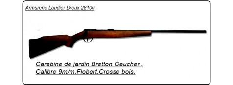 Carabine Bretton Gaucher St Etienne.Cal 9m/m Flobert .Un coup crosse bois.Ref 5915