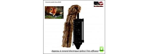 Appeau-visuel-Primos-Renard-Sit N Spin Crazy Critter-Ref 24533
