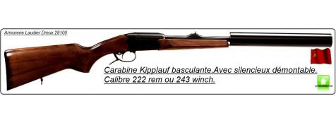 Carabines-Baîkal-Custom Silence-Canon un coup-Kipplauf basculant -Calibre  222 Rem-ou 243 winch+ silencieux démontable-Promotions