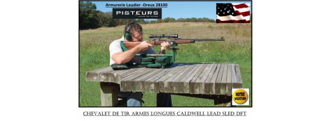 Chevalet-tir-réglage-modulable-Caldwell-Lead-sled-DFT -Promotion- Ref 30165
