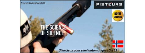 Silencieux-fusil-chasse-A-Tec-shotgun-A12-pour semi automatiques-Cal 12-Ref silencieux-A-tec-A12