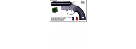 Pistolet-Gc 27-Défense-balles caoutchouc - Cal 12/50-Ref 786