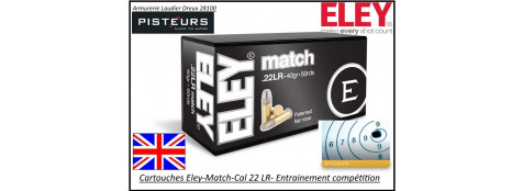Cartouches-Eley-Match-22LR-entrainement-compétition-Promotion