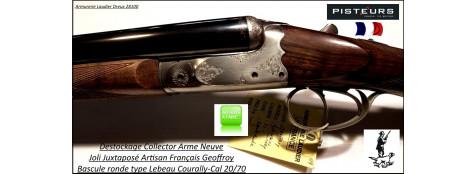 Juxtaposé-Geoffroy-G1-Artisanal -St Etienne-Cal- 20/70-Canon 71 cm-DESTOCKAGE-Collector-NEUF-2kg235-Ref-geoffroy-