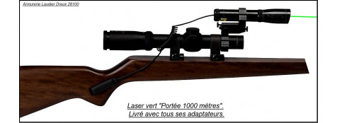 "Laser-ND3- SUB ZERO-VERT-grande Puissance-Classement 2M-""Promotion""-Ref 15953"