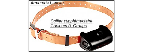 """Colliers supplémentaires pour CANICOM 5.202 - 5.500 - 5.800 - 5.1500-Sangles couleur orange ou vert fluo,ou bleue,ou vert foncé.""""Promotions""""."""