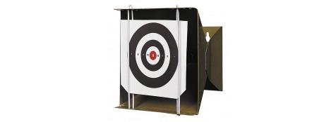 Porte cible  pour air comprimé pour cartons 14x14 cm-Ref 867