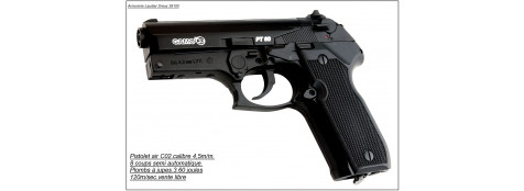Pistolet GAMO - PT 80- CO2- Cal 4.5mm-  8coups.Ref 7090