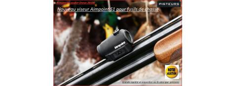"""Viseur-Aimpoint-Micro-S-1-FUSIL-CHASSE-Point rouge -mini-NOUVEAUTE Exclusivité-""""Promotion""""-DISPONIBLE-Ref 30651"""