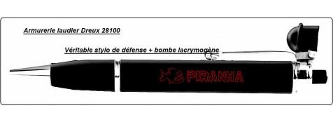 Stylo-défense-avec  aérosol-Lacrymogène- Rechargeable.Ref 18808-18459