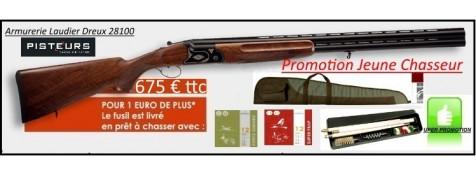 Superposé-Country- PACK-COMPLET-JEUNE-CHASSEUR-Bronzé-UNIFRANCE-Cal12 Mag-Mono-détente- chokes inter-Promotion-Ref 31862