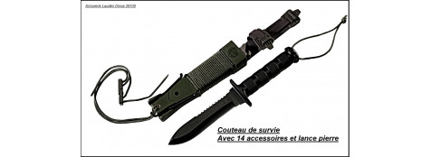 Couteau de survie  Jungle  King II-Ref 17121.