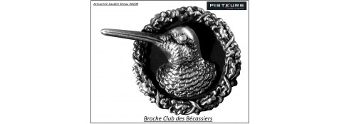Broche-Club des bécassiers-Ref 14161