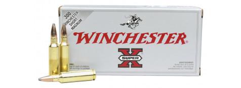 """Cartouches Winchester 243 WIN (boites de 20).Suprème ou Super X.""""Promotions""""."""