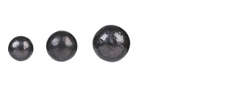 Plombs- ronds- pour armes de poing à poudre noire- cal 36-Ref 742