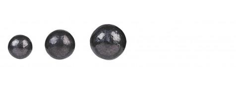 Plombs-ronds-cal 44-Diamêtre 445-Pour armes de poing à poudre noire -Ref 13695