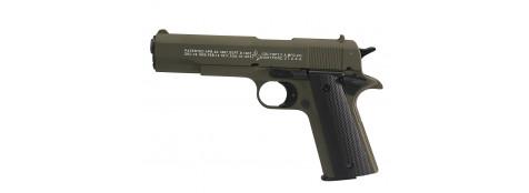 Pistolet d'alarme COLT GOVERNMENT1911 A1 .Umarex  à blanc/gaz. Cal. 9 mm