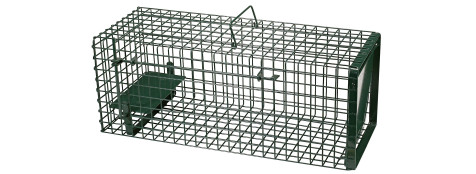Cage chatière -Double entrée -Ref 19637