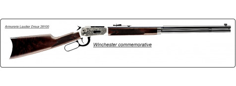 "Carabine Winchester levier sous garde Commémorative 1810 ""Oliver F. Winchester"" 94TM High Grade .Cal 30-30."