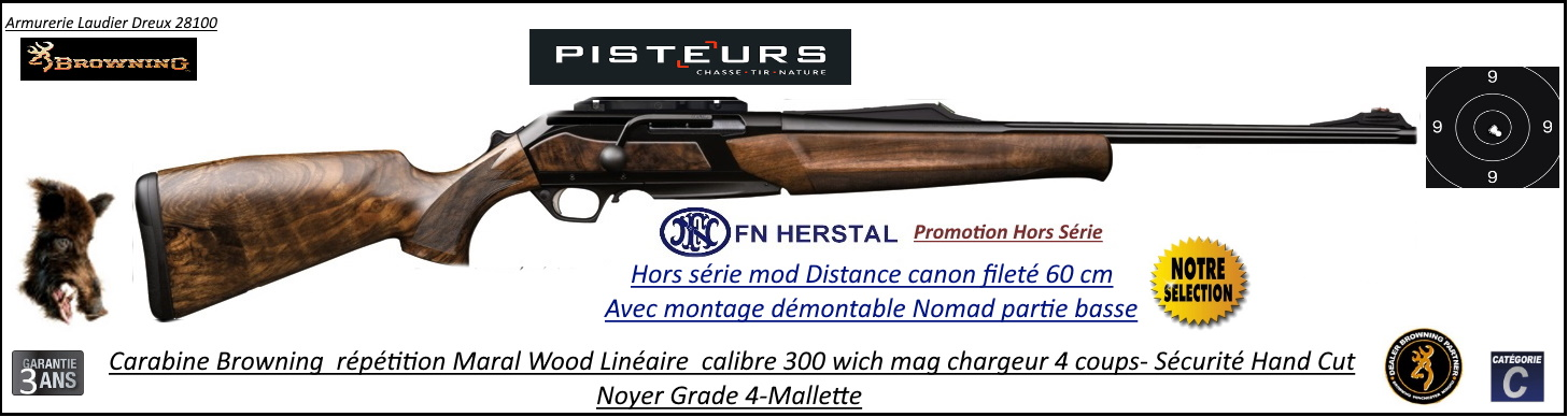 browning maral wood distance