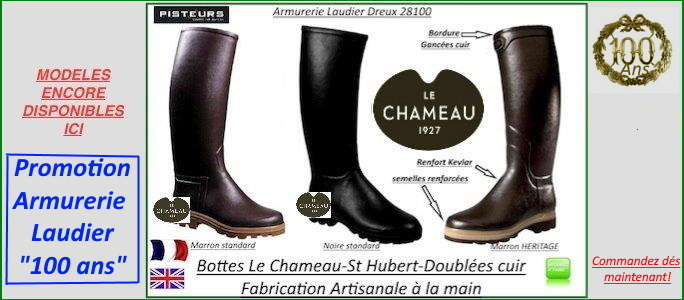 Promotions bottes le Chameau