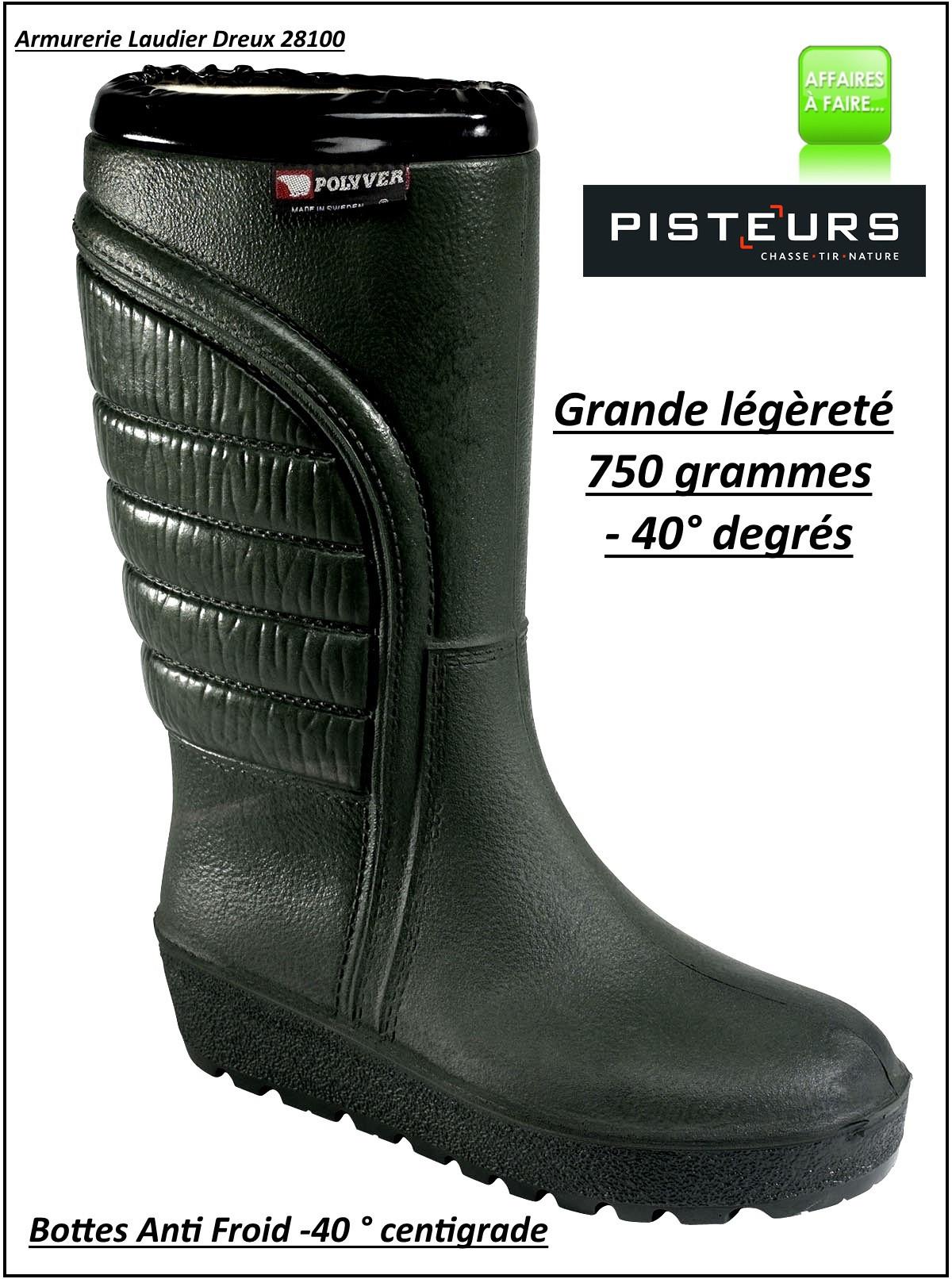 Bottes -POLYVER- ultra légères Grand Froid - très grand froid-T 39 au 46-47