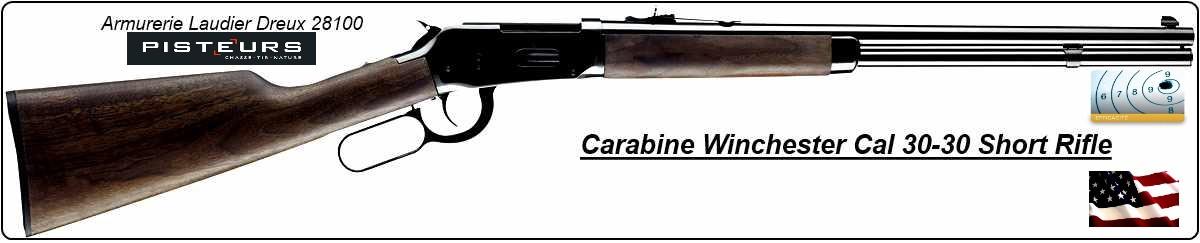 Carabine Winchester SHORT RIFLE USA Calibre 30-30- Model 94 -Ref 16170