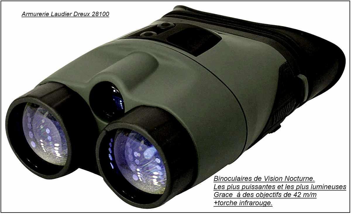 "Jumelles-Vision-Nuit-binoculaires-Yukon -PULSAR--TRACKER RX-3 x 42-Nocturnes-""Promotion""-Ref 17053"