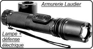 Appareil défense électrique shocker Lampe de poche+ chocker- 1 Million de volts- rechargeable sur secteur -Promotion-Ref 17556