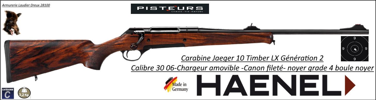 Carabine Jaeger 10 Timber LX GENERATION 2 Calibre 30- 06  répétition noyer grade 4-Promotion-Jaeger-haeh-420000044