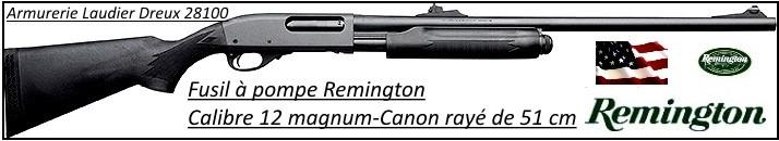 """Fusil à pompe- Remington 870 EXPRESS® -Cal. 12 Magnum-Crosse Synthétique-Canon rayé 51 cm-""""Promotion""""-Ref 20270"""