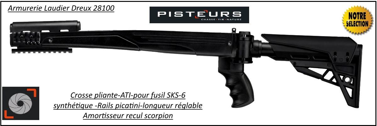 Crosse-ATI-synthétique-pour-SKS-6-Simonov-Ref 30300