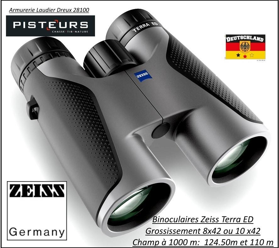 """Jumelles-Zeiss-Allemandes-binoculaires-Terra ED- 8x42 ou 10x42-ou 10x32""""Promotions""""."""