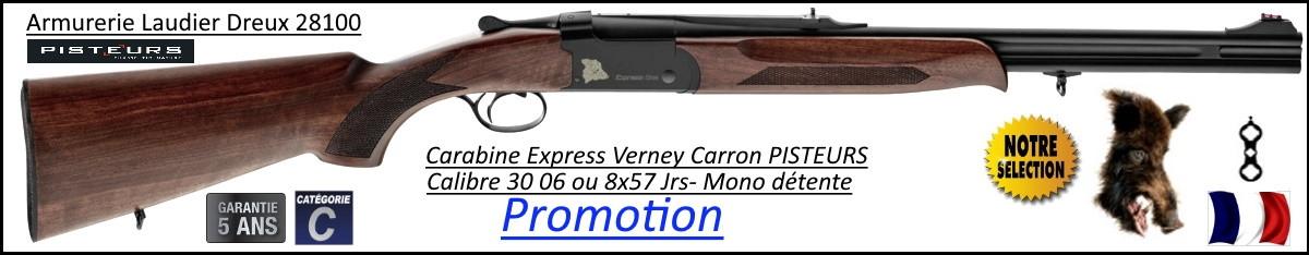 Superposé Express One Verney carron Pisteurs St Etienne Calibre 30 06 Mono détente-Promotion-Ref 38376