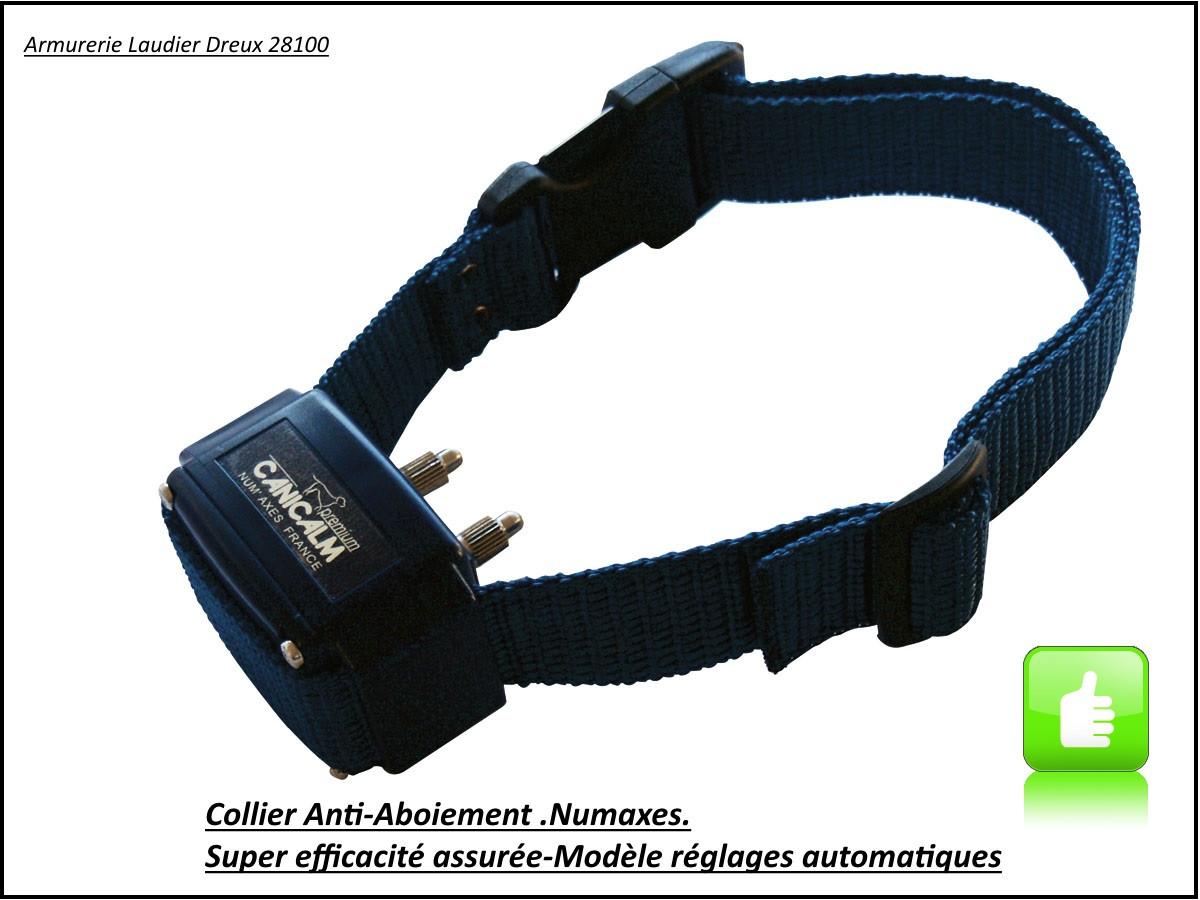 Collier-anti aboiement-NUM'AXES-Canicalm Premium-Promotion-Ref  7396