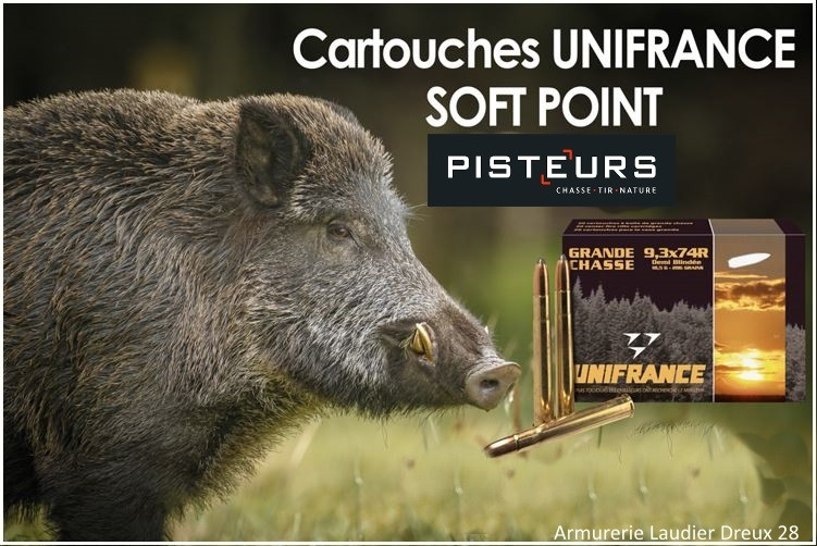Cartouches-Grande-Chasse-UNIFRANCE-PISTEURS-Promotion