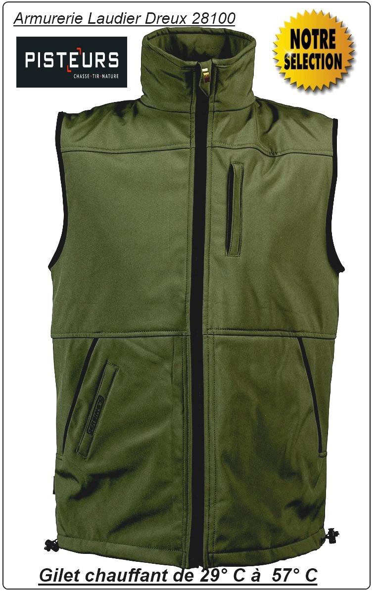 Gilets-Chauffants-Soft-shell-GERBING'S-7-Volts-Tailles: M-L-XL-XXL-XXXL