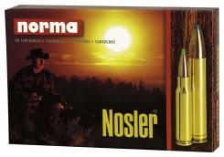 "22-250 REM NORMA"" V-MAX NOUVEAUTE"" pointe plast rouge type Nosler  (3.2 grammes =50 grains.V0:1135 m/sec.Ref.16325"