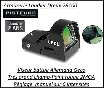 Viseur GECO Open Red Dot Allemand-Promotion-Ref 34007bis-geco