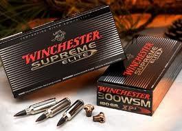 "Cartouches grande chasse Winchester. Cal 280 Rem (boite de 20) .Type Suprème Ballistic Silvertip.9,07 gr.""Promotions"".Ref 2566"