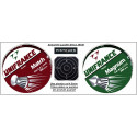 Plombs air comprimé  précision Calibre 4.5mm Pisteurs Unifrance par 500 - Têtes Pointues ou Têtes plates.